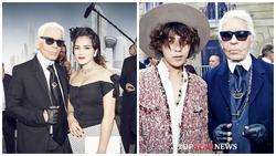 Những lần Lý Nhã Kỳ, G-Dragon và dàn sao thế giới có cơ hội đứng chung 1 khung hình với 'ông hoàng Chanel' Karl Lagerfeld