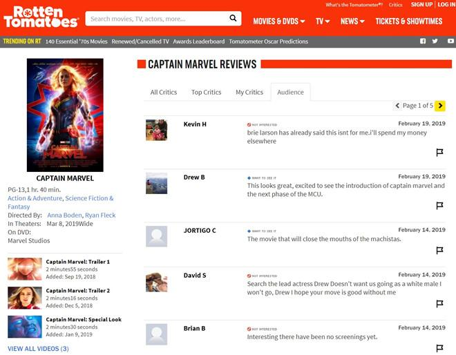 Chưa chiếu, bom tấn Captain Marvel đã bị ném đá-1