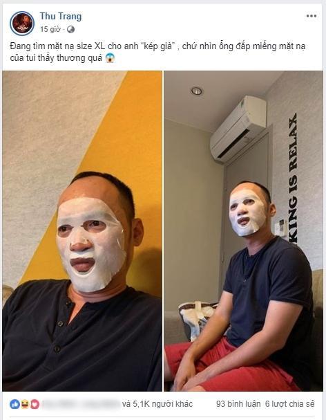 Chủ tịch Tiến Luật đắp mặt nạ dưỡng da và cái kết khi bị Thu Trang và 500 anh em đồng nghiệp xúm vào cười thối mũi-3