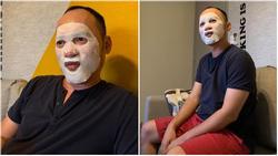 'Chủ tịch' Tiến Luật đắp mặt nạ dưỡng da và cái kết khi bị Thu Trang và 500 anh em đồng nghiệp xúm vào cười thối mũi