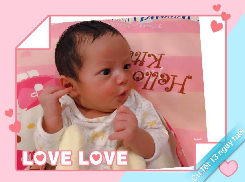 Nhóc tì vừa chào đời nhà Đức Thịnh - Thanh Thúy được phong thánh biểu cảm vì gương mặt quá đỗi hài hước-6