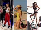 NGƯỢC ĐỜI NHƯ SAO: Mặc bikini đi boots, diện đồ thể thao lại mix giầy cao gót chỉ có thể là Hoàng Thùy, Quỳnh Anh Shyn, Lan Khuê