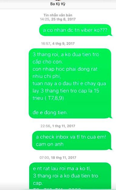 Bị chồng cũ tố không cho gặp mặt con, Lý Phương Châu tung bằng chứng Lâm Vinh Hải mặc cả từng đồng chu cấp-3