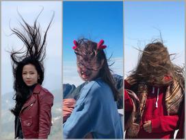 Cười đau ruột với 1001 kiểu tóc để đời khi đi du lịch Sapa vào ngày trời trở gió