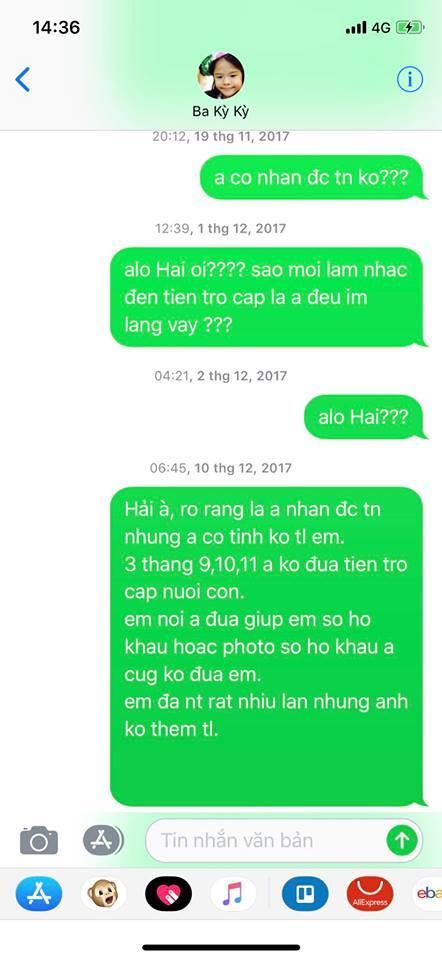 Lý Phương Châu tố Lâm Vinh Hải mặc cả tiền chu cấp cho con, Linh Chi đáp trả thay chồng: Cô ta lật lọng-3