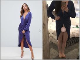 HÚ HỒN mua đầm dự tiệc online nhưng lại nhận được chiếc váy phô trương toàn bộ vùng kín