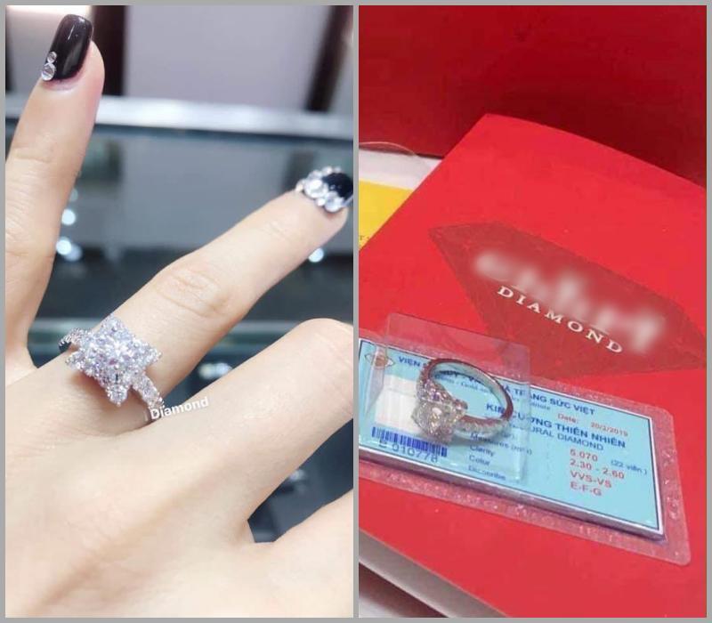 LẠ THẬT SỰ NÈ: Hồng Quế lại bị bóc phốt kiên trì bốc phét nhẫn kim cương 55 triệu biến thành 500 triệu chồng tặng-4