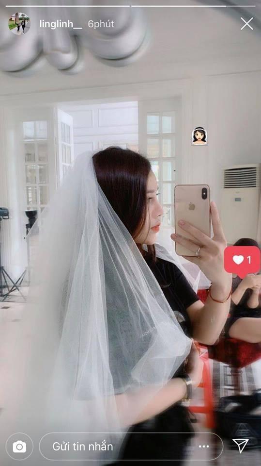 Cuối tuần đang bình yên, người yêu cầu thủ Quang Hải bất ngờ gây xôn xao khi khoe ảnh đi thử váy cưới-3