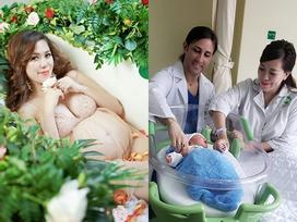 Lộ diện quý tử mới chào đời, nặng hơn 3 kg của 'hotgirl ngực khủng' Mai Thỏ