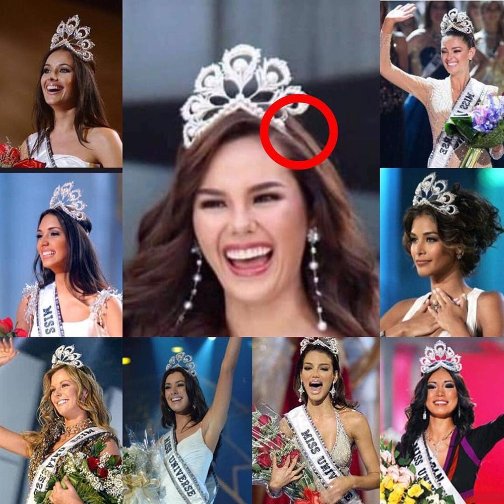 NHÌN MÀ XÓT: Catriona Gray làm vỡ vương miện phượng hoàng 6 tỷ sau 2 tháng đăng quang Hoa hậu Hoàn vũ 2018-10
