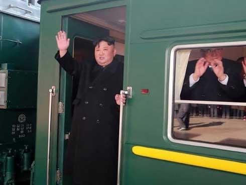 Triều Tiên chính thức xác nhận ông Kim Jong Un đến Việt Nam bằng tàu bọc thép-1