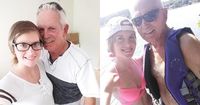 Hôn nhân hạnh phúc của cặp đôi ông cháu, chênh nhau đến 43 tuổi-1