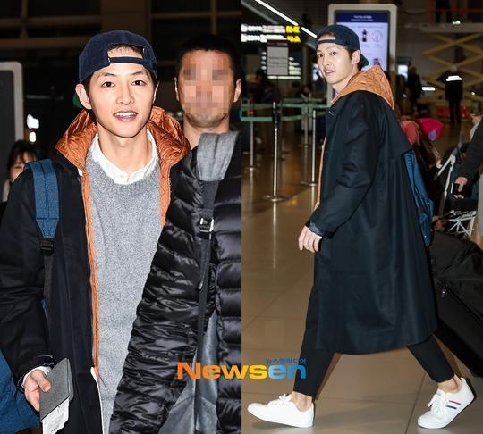 Song Joong Ki xuất hiện tươi cười sau tin đồn ly hôn Song Hye Kyo dù ngón tay đeo nhẫn cưới vẫn trống trơn-1