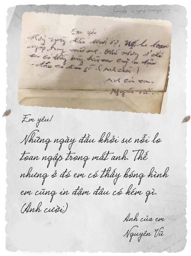 Dân mạng truyền tay bức thư tình mùi mẫn ông vua cà phê Đặng Lê Nguyên Vũ gửi vợ thời còn đang cưa cẩm-1