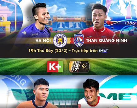 Xem V-League 2019 và các giải đấu hấp dẫn trên K+