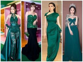 Mặc đầm xanh cổ vịt khó nhằn: Chi Pu, Hari nên học hỏi Hương Giang, Kỳ Duyên để không trở nên thảm họa