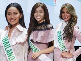 Vừa đặt chân tới Thái Lan, Nhật Hà đã xinh đẹp áp đảo dàn thí sinh Hoa hậu Chuyển giới Quốc tế 2019