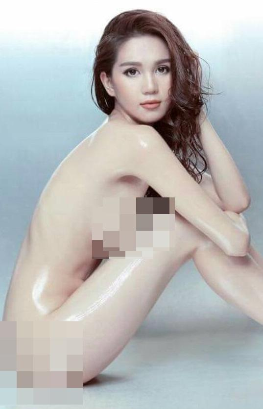 Image result for ngọc trinh nude