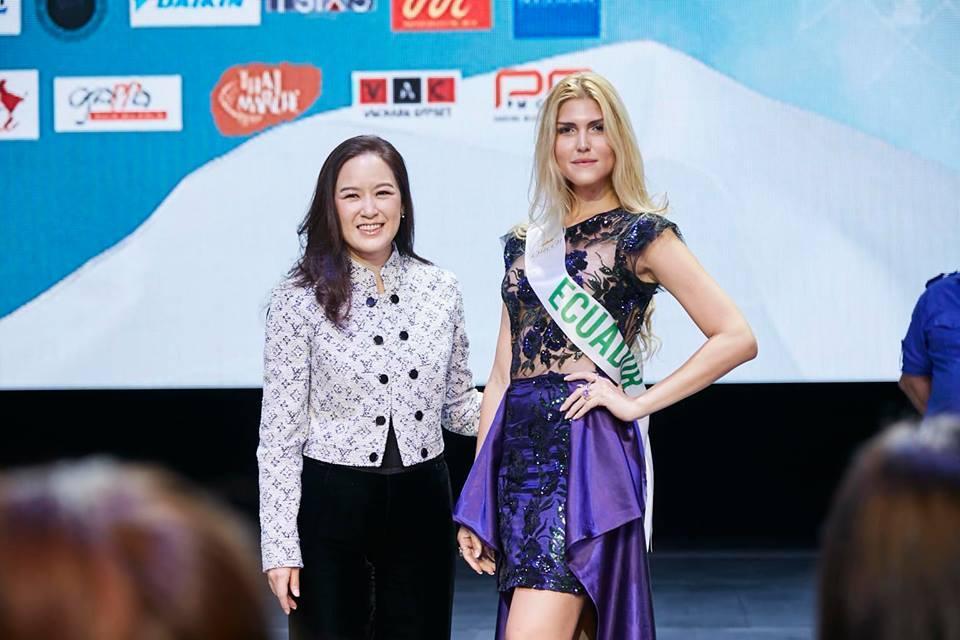 Vừa đặt chân tới Thái Lan, Nhật Hà đã xinh đẹp áp đảo dàn thí sinh Hoa hậu Chuyển giới Quốc tế 2019-4