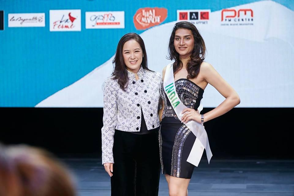 Vừa đặt chân tới Thái Lan, Nhật Hà đã xinh đẹp áp đảo dàn thí sinh Hoa hậu Chuyển giới Quốc tế 2019-5