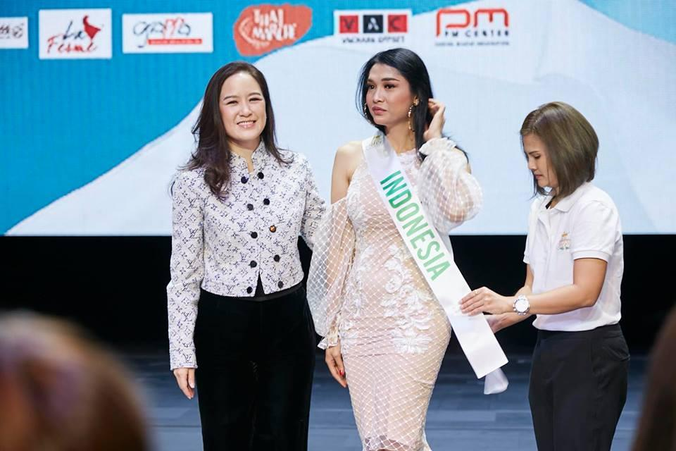 Vừa đặt chân tới Thái Lan, Nhật Hà đã xinh đẹp áp đảo dàn thí sinh Hoa hậu Chuyển giới Quốc tế 2019-6