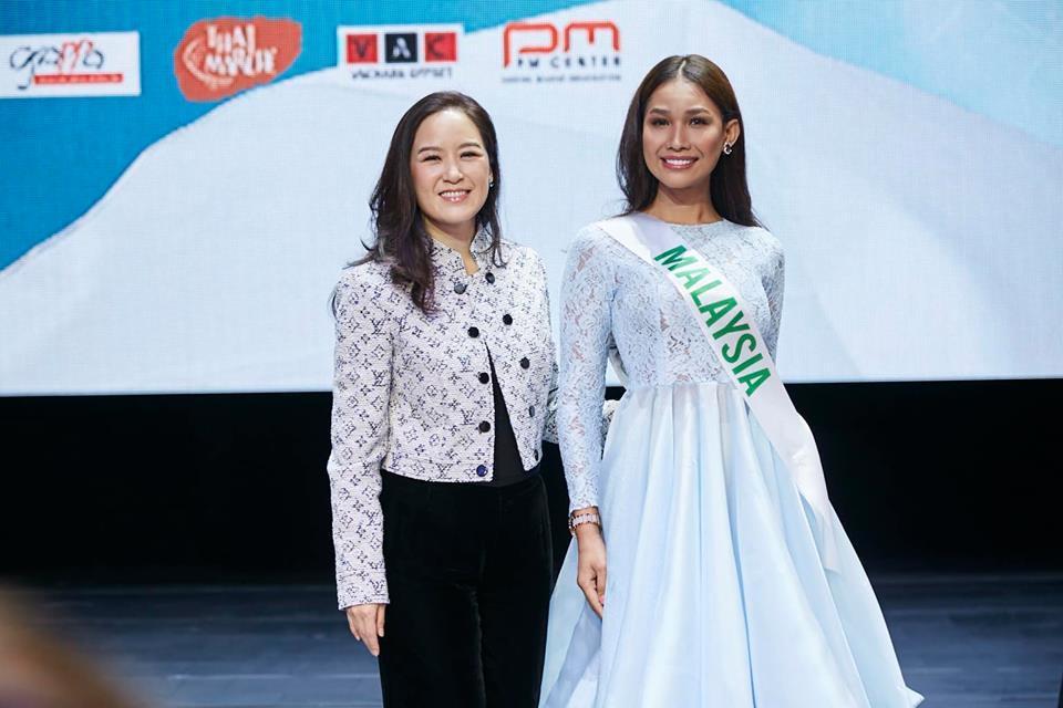Vừa đặt chân tới Thái Lan, Nhật Hà đã xinh đẹp áp đảo dàn thí sinh Hoa hậu Chuyển giới Quốc tế 2019-17