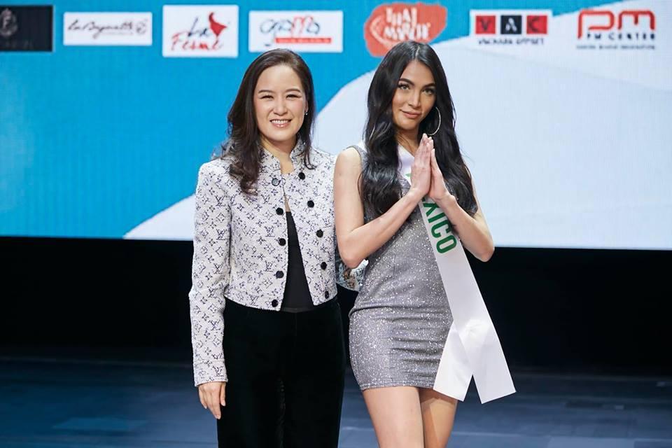 Vừa đặt chân tới Thái Lan, Nhật Hà đã xinh đẹp áp đảo dàn thí sinh Hoa hậu Chuyển giới Quốc tế 2019-18