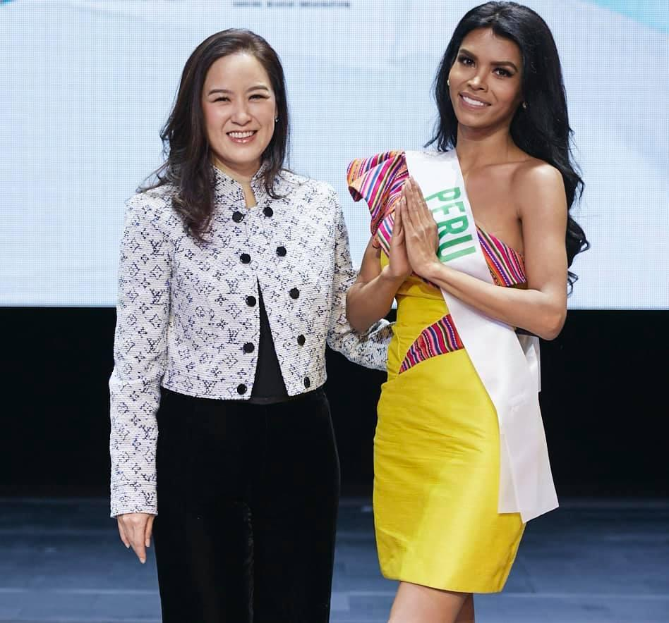 Vừa đặt chân tới Thái Lan, Nhật Hà đã xinh đẹp áp đảo dàn thí sinh Hoa hậu Chuyển giới Quốc tế 2019-9