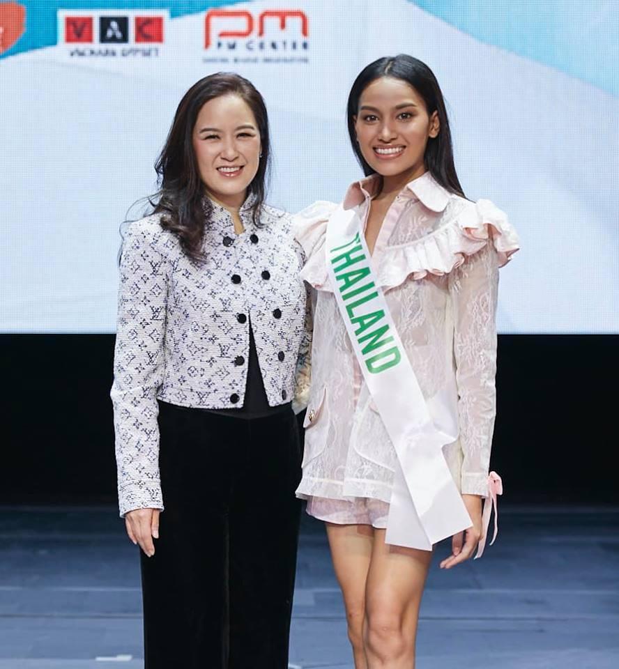 Vừa đặt chân tới Thái Lan, Nhật Hà đã xinh đẹp áp đảo dàn thí sinh Hoa hậu Chuyển giới Quốc tế 2019-2