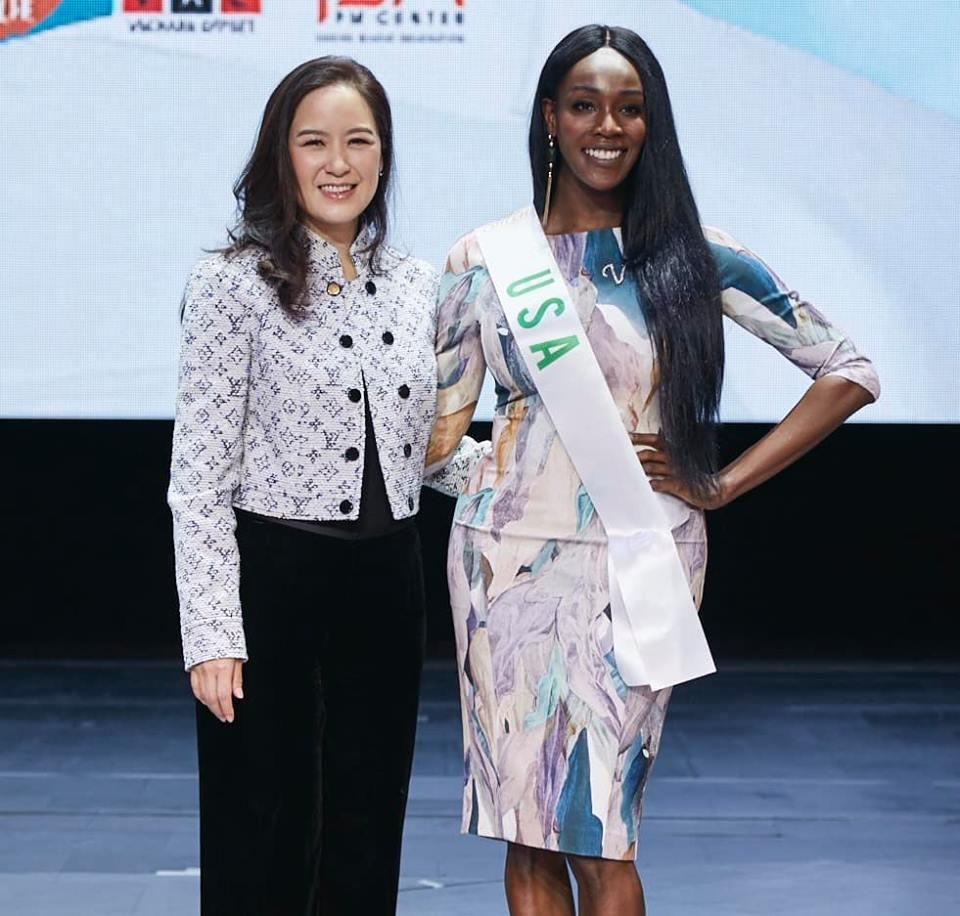 Vừa đặt chân tới Thái Lan, Nhật Hà đã xinh đẹp áp đảo dàn thí sinh Hoa hậu Chuyển giới Quốc tế 2019-14