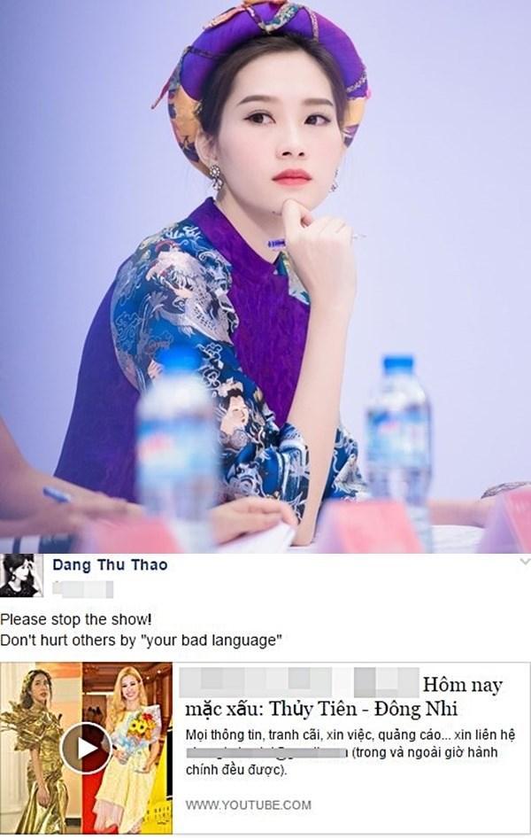 Hoa hậu Đặng Thu Thảo: Cứ im lặng là auto xinh, hễ phát ngôn là chấn động showbiz Việt-5