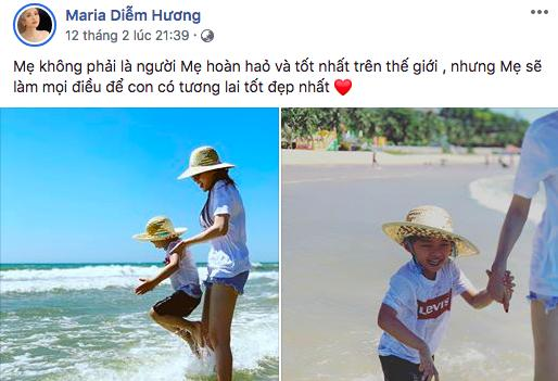 Mạng xã hội đưa ra nhiều bằng chứng nghi ngờ Hoa hậu Diễm Hương đã đường ai nấy bước với người chồng thứ hai-2
