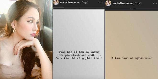 Mạng xã hội đưa ra nhiều bằng chứng nghi ngờ Hoa hậu Diễm Hương đã đường ai nấy bước với người chồng thứ hai-3