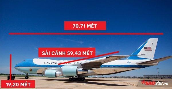 Tổng thống Mỹ Donald Trump vừa tới Hà Nội bằng Air Force One, đây là những điểm đặc biệt nhất về chiếc máy bay này-1