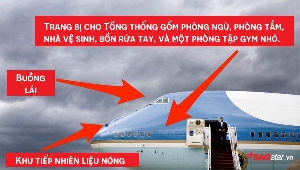 Tổng thống Mỹ Donald Trump vừa tới Hà Nội bằng Air Force One, đây là những điểm đặc biệt nhất về chiếc máy bay này-2