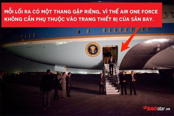 Tổng thống Mỹ Donald Trump vừa tới Hà Nội bằng Air Force One, đây là những điểm đặc biệt nhất về chiếc máy bay này-6