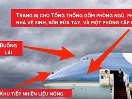 Tổng thống Mỹ Donald Trump vừa tới Hà Nội bằng Air Force One, đây là những điểm đặc biệt nhất về chiếc máy bay này