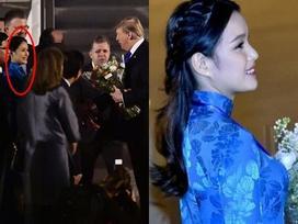 Hoa khôi được diện kiến Tổng thống Donald Trump khiến dân mạng tấm tắc: 'Đúng là đẹp hoàn hảo'