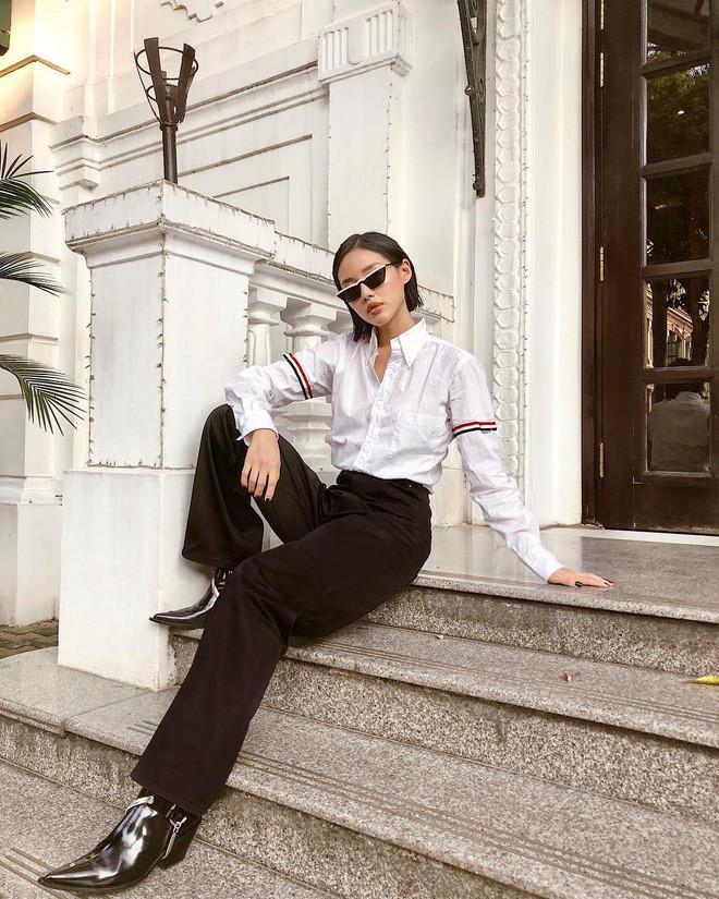 Từ Mạc Văn Khoa đến Trịnh Thăng Bình, Hiền Hồ... cả showbiz Việt vẫn mải mê diện 1 chiếc áo sơ mi quốc dân-8