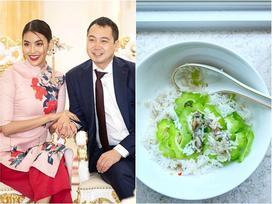 Nàng dâu nhà giàu Lan Khuê 'chiến' hết cả nồi cơm chỉ với một món ăn rẻ tiền đến không ngờ