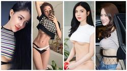 Diện áo hở nửa ngực: Elly Trần, Thanh Bi khoe 'núi đôi' phồn thực chỉ trừ Ngân 98 lộ vòng 1 chảy xệ