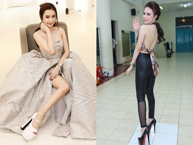 Mất tiền để đẹp mà chẳng thấy đẹp, những đôi cà kheo to khủng bố đang phá nát diện mạo của nhiều mỹ nhân Việt-7