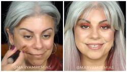 Choáng váng trước màn 'hack tuổi' cực đỉnh nhờ nghệ thuật make up