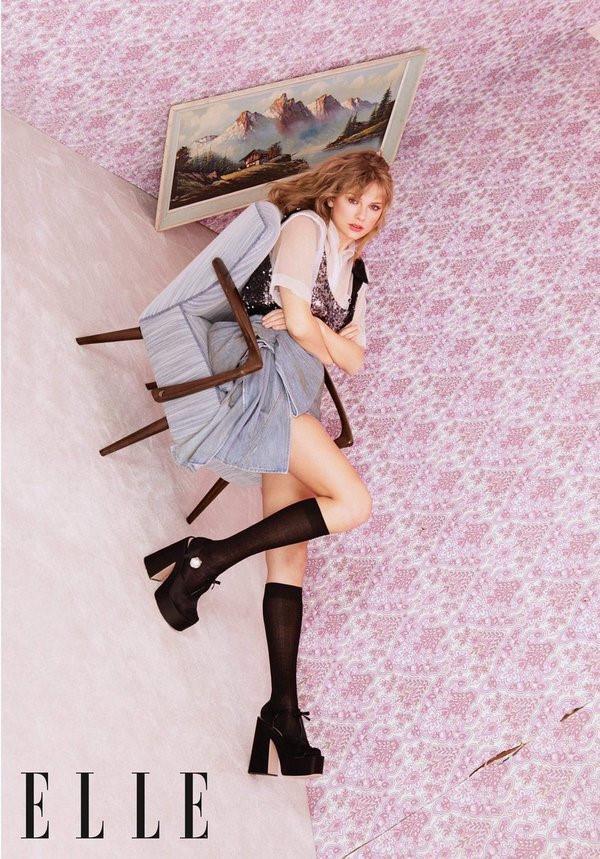 Taylor Swift xinh đẹp, khẳng định phong cách nhạc cá nhân trên tạp chí-2