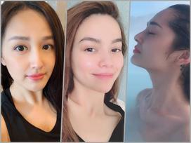 6 sao Việt có làn da mượt mà, chẳng cần son phấn nhiều vẫn xinh