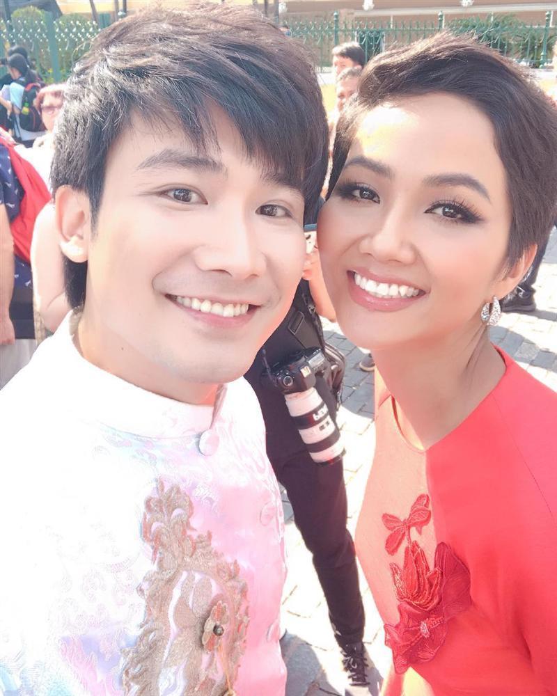 Chí Thiện học đòi theo HHen Niê thực hiện cú xoay thần thánh ở Miss Universe và cái kết-2