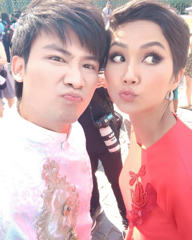 Chí Thiện học đòi theo HHen Niê thực hiện cú xoay thần thánh ở Miss Universe và cái kết-3