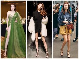 SAO MẶC ĐẸP: Hồ Ngọc Hà chi hơn 300 triệu đồng cho 1 lần dự show thời trang - Elly Trần diện đầm xẻ hông 'đốt mắt'