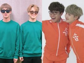 BTS và những lần mặc đồ đôi khiến fan phải 'ôm tim' vì quá ngọt ngào