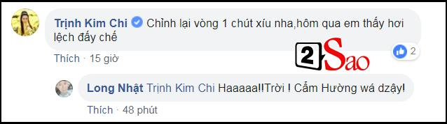 Chỉ với một bình luận sơ sảy, Á hậu Trịnh Kim Chi vô tình tiết lộ Long Nhật đã chuyển giới thành công?-4